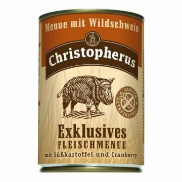Christopherus menü vaddisznóval