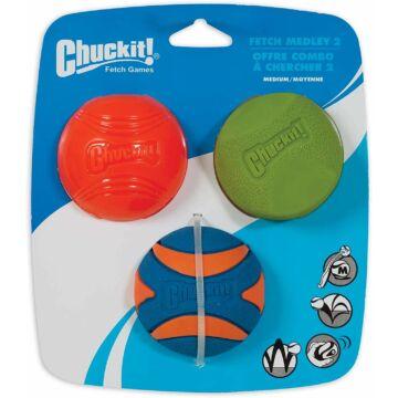 Chuckit Fetch Medley 2 Labda Szett M