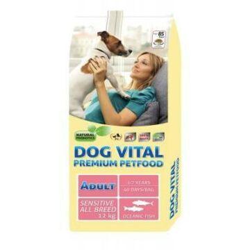 Dog Vital Adult Sensitive All Breeds Fish 12kg kutyatáp