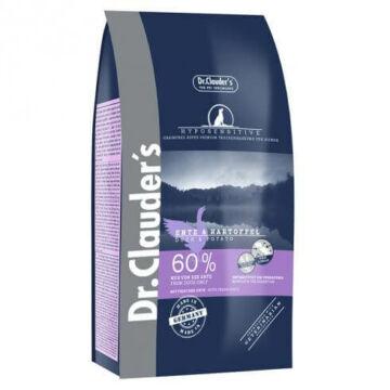 Dr.Clauders Adult Hyposensitive Kacsa&Burgonya 0,35kg