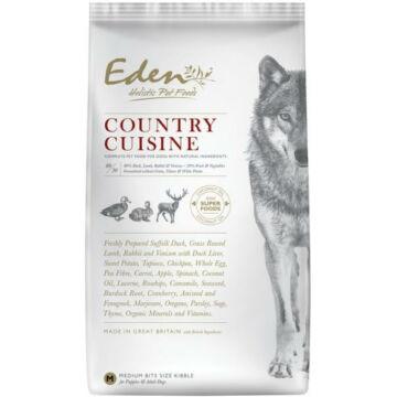 Eden Holistic 80/20 Country Cuisine Medium Kacsa, Bárány, Nyúl és Szarvas kutyatáp 12kg