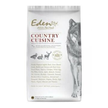 Eden Holistic 80/20 Country Cuisine Small Kacsa, Bárány, Nyúl és Szarvas kutyatáp 6kg