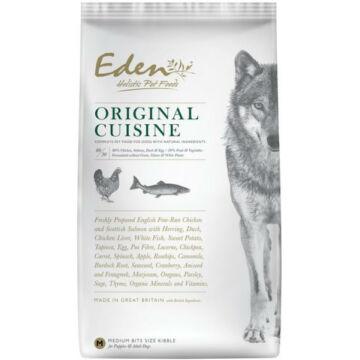 Eden Holistic 8020 Original Cuisine  Csirke-Hal Medium kutyatáp 6kg