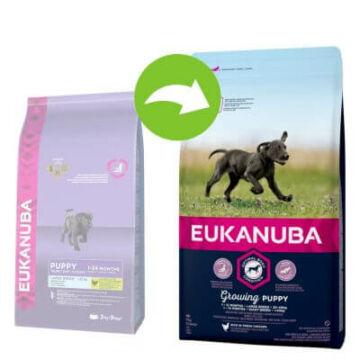 Eukanuba Puppy Large 3kg kutyatáp