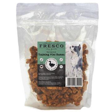 Fresco Hipoallergén Tréning Snack Mini Bones Kacsa