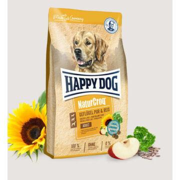 Happy Dog NaturCroq Poultry & Rice 1 kg. Kutyatáp