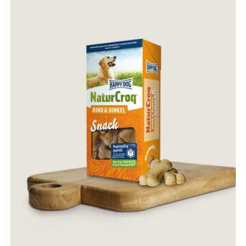 Happy Dog NaturCroq Snack Rind & Dinkel (Marha & Tönkölybúza) 0,35 kg