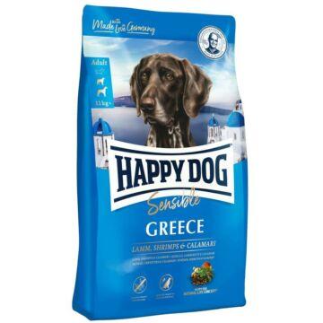 happy dog greece