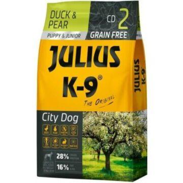 Julius-K9 GF City Dog Puppy & Junior Duck & Pear 2x10 kg