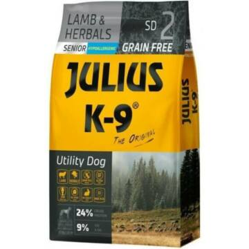 Julius-K9 GF Hypoallergenic Senior Lamb & Herbals 3kg