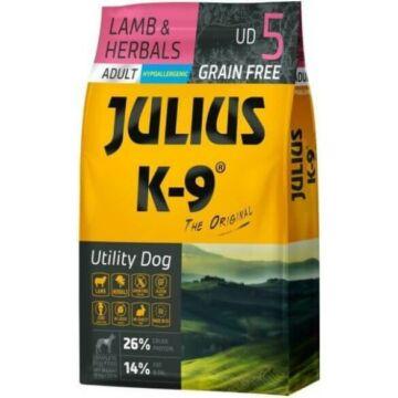 Julius-K9 GF Hypoallergenic Utility Dog Adult Lamb & Herbals 10 kg