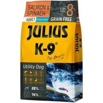 Julius-K9 GF Hypoallergenic Utility Dog Adult Salmon & Spinach 3kg