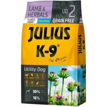 Julius-K9 GF Hypoallergenic Utility Dog Puppy & Junior Lamb & Herbals 10kg