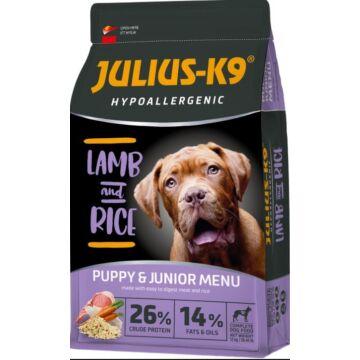 Julius-K9 Hypoallergenic Puppy & Junior Lamb & Rice 3kg