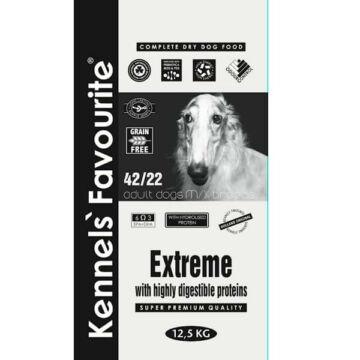 Kennels' Favourite Extreme száraztáp felnőtt kutyáknak 12,5kg