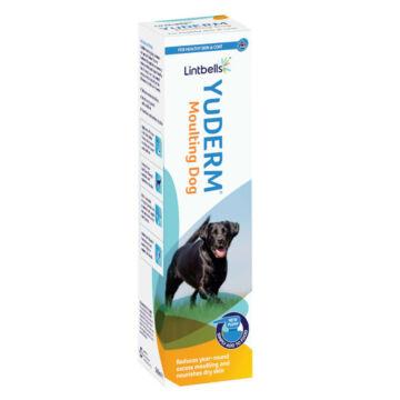 Lintbells YuDERM Moulting Dog - Szőr és bőrálpolás túlzott szőrhullásra kutyáknak 500 ml