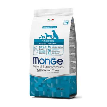 Monge All Breed Adult Hypoallergenic Salmon & Tuna 12 kg kutyatáp