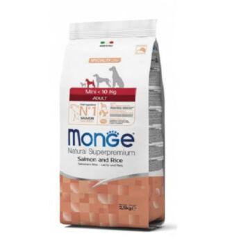Monge Mini Adult Salmon and Rice 15 kg kutyatáp