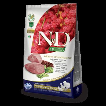 N&D Dog Grain Free Quinoa Weight Management Bárány 800 g