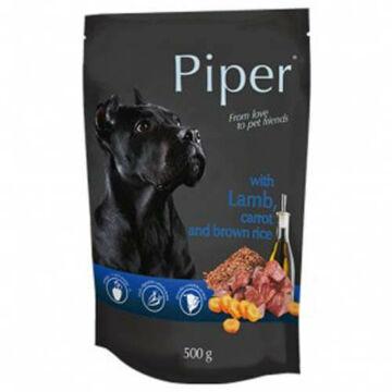 PIPER ADULT alutasak kutyáknak bárányhússal, sárgarépával és barna rizzsel 500g