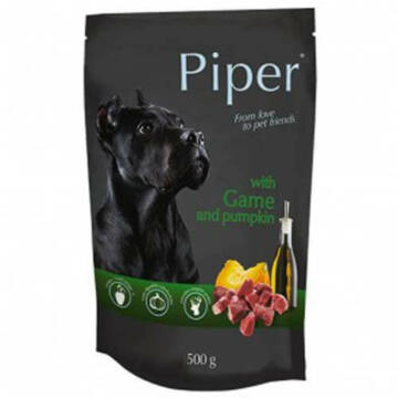 PIPER ADULT alutasak kutyáknak vadhússal és tökkel 150g