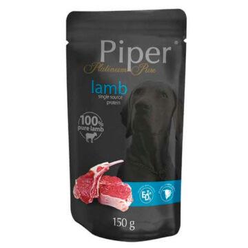 PIPER PLATINUM PURE Bárány Alutasak felnőtt kutyáknak 150g
