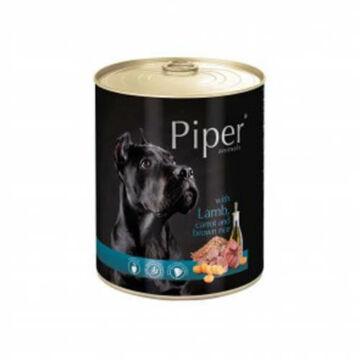 Piper felnőtt kutyakonzerv Bárányhússal, répával és barna rizzsel 400g