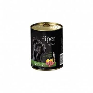 Piper Kutyakonzerv Felnőtt Kutyáknak Vadhússal és Sütőtökkel 400g