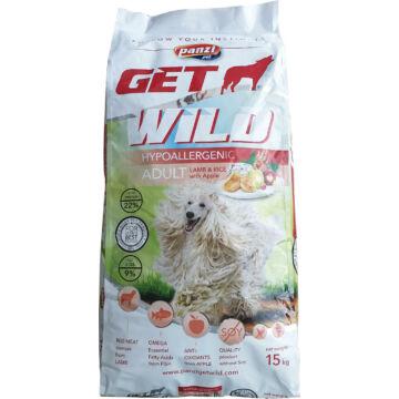 Panzi GetWild Dog Adult Hypoallergenic Lamb & Rice with Apple 15 kg