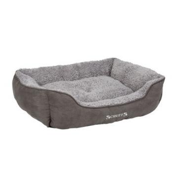 Scruffs Cosy Box Bed Fekhely 60x50x17 cm Szürke