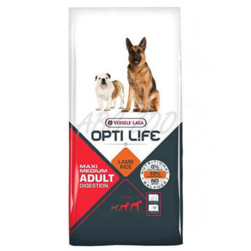 Versele Opti Life Adult Digestion Medium & Maxi kutyatáp 12,5 kg