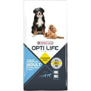 Versele Opti Life Adult Light Medium & Maxi kutyatáp 12,5 kg