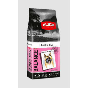 Panzi Alice Balance Lamb,rice Adult 17kg kutyatáp