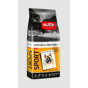 Panzi Alice Sport Chicken,vegetables Adult 17kg kutyatáp