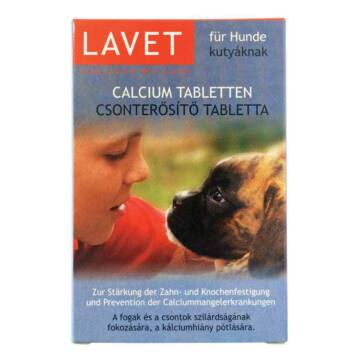 Lavet Csonterősítő Tab. Kutyáknak 50x