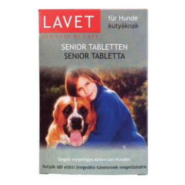 Lavet Senior Tab. Kutyáknak 50x