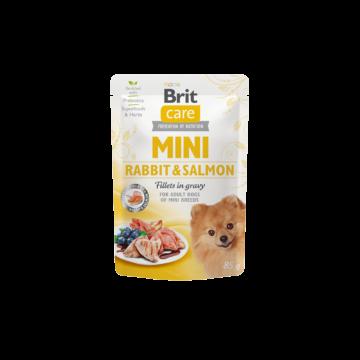 Brit Care MINI Pouch Rabbit&Salmon 85 g