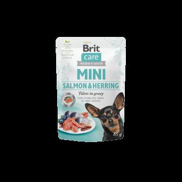 Brit Care MINI Pouch Salmon&Herring 85 g
