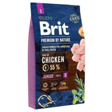 Brit Premium By Nature Junior Small 1kg