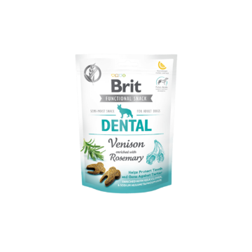 Brit Care Dog Functional Snack Dental Venison