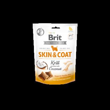 Brit Care Dog Functional Snack Skin&Coat Krill