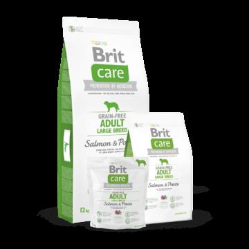 Brit Care Grain-free Adult Large Breed Salmon & Potato 1 kg kutyatáp