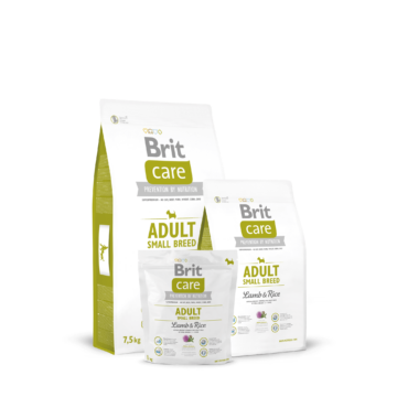 Brit Care Adult Small Breed Lamb & Rice 1 kg kutyatáp