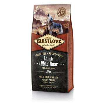 CarniLove Adult Bárány-Vaddisznó 2x12 kg kutyatáp