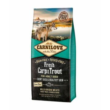 Carnilove Fresh Adult Dog Ponty & Pisztráng - Hair & Healthy Skin 12 kg kutyatáp