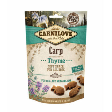 Carnilove Dog Semi Moist Snack Ponty Kakukkfūvel 200g
