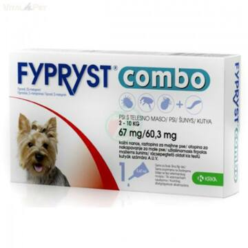 Fypryst Combo kutya 2-10kg 1db