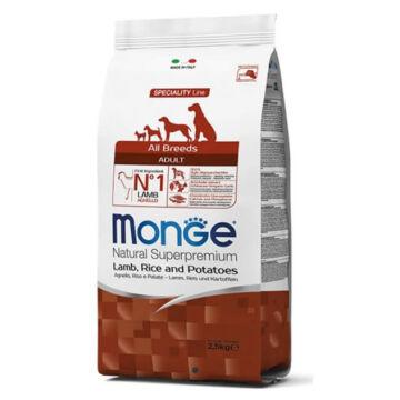 Monge Dog Speciality line All Breeds Adult Bárány, Rizs ,Burgonya, 12kg