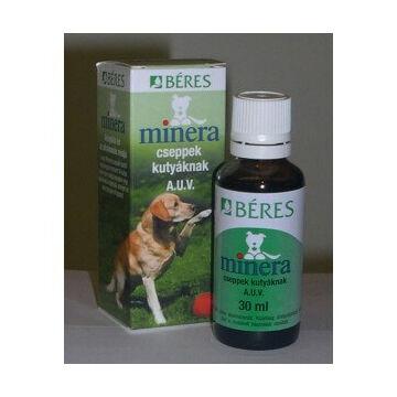 Béres Minera cseppek kutyáknak A.U.V. 30ml