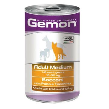 Gemon Dog Adult Medium konzerv csirke-Pulyka 1250g